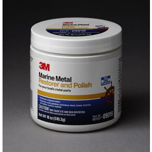 3M Marine Metal Restorer & Polish   paste 500 gr   - 09019
