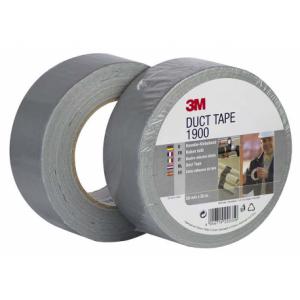 3M 1900 Υφασμάτινη Ταινία Duct Ασημί 50mmX50m