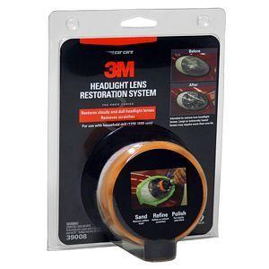 3M Headlight Lens Restoration System   - 39073