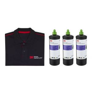 3M Promo Pack 3x 518015 Perfect-It Fast Cut EXTREME Compound 1 kg + 1 T-Shirt