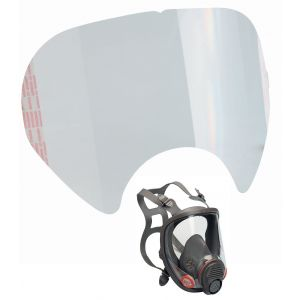 3M Μεμβράνη Προστασίας Φακού Μασκών Ολοκληρου Προσώπου   - 6885