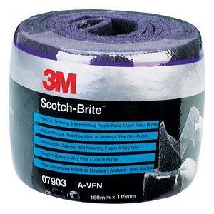 3M Scotch Brite Ρολά Pre-Cut   115mm x 150mm  x 35 τεμ. Μωβ   -