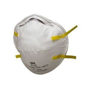 3M 8710 Cup-shaped Dust Respirator FFP1 NR D