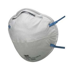 3M 8810 Cup-shaped Dust Respirator Unvalved FFP2 NR D
