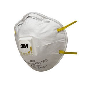 3M 8812 Cup-shaped Dust Respirator FFP1 NR D Valved