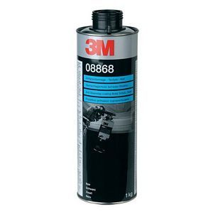 3M Textured Stone Protection Paintable Coating 1000 ml Black   - 08868