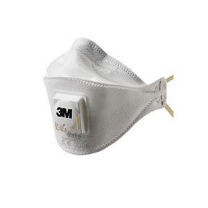 3M 9312 Foldable Dust Respirator FFP1 NR D Valved