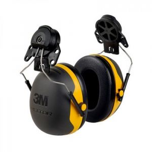 3M PELTOR X2P3 Earmuffs Helmet Attached SNR30dB