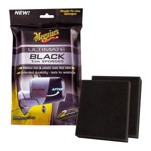 Meguiars Ultimate Black Trim Sponges 2 / Pack