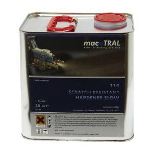 114 Scratch Resistant Hardener Slow 2,5 lt