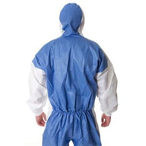 3M Protective Coverall White/Blue Type5/6