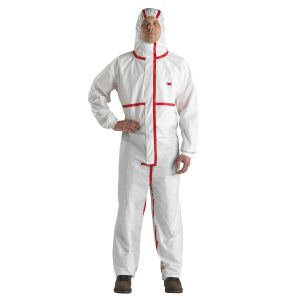 3M Protective Coverall White/Red Type 4/5/6