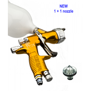 DEVILBISS GTI PRO LITE Spraygun - NEW package including 1+1 nozzles